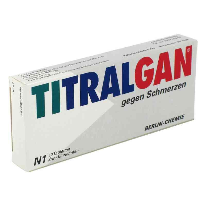 TITRALGAN gegen Schmerzen  bei versandapo.de bestellen