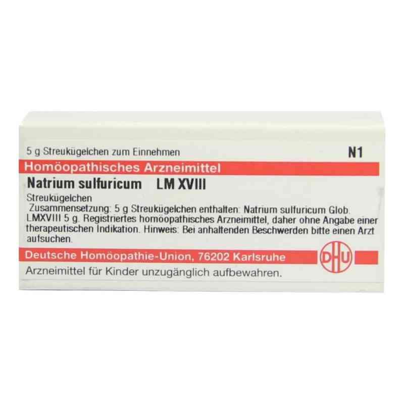Lm Natrium Sulfuricum Xviii Globuli  bei versandapo.de bestellen