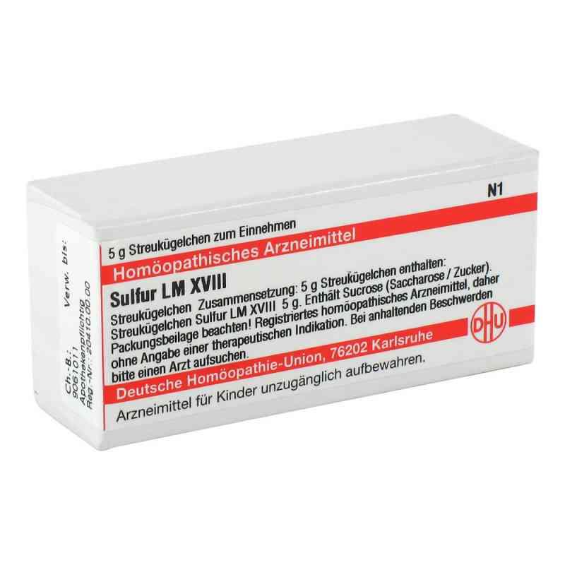 Lm Sulfur Xviii Globuli  bei versandapo.de bestellen