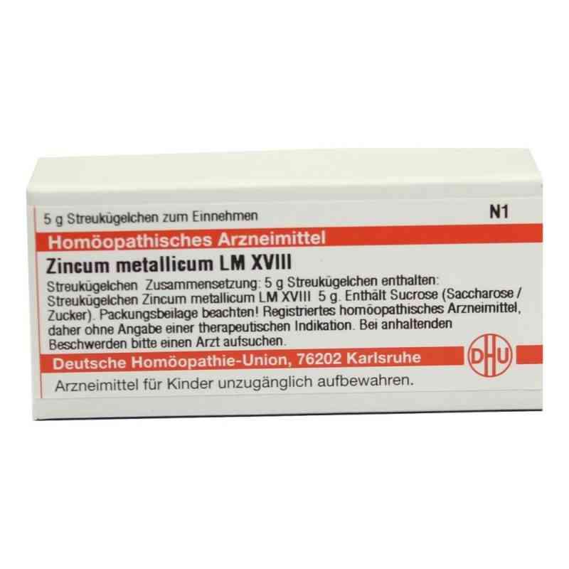 Lm Zincum Metallicum Xviii Globuli  bei versandapo.de bestellen