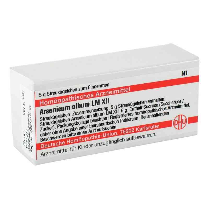 Lm Arsenicum Album Xii Globuli  bei versandapo.de bestellen