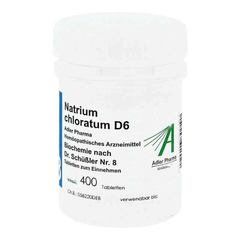 Biochemie Adler 8 Natrium chlor.D6 Adl.ph. Tabletten   bei versandapo.de bestellen