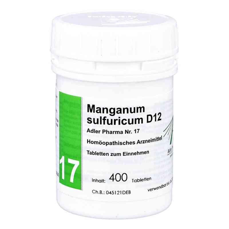 Biochemie Adler 17 Manganum sulf.D12 Ad.p. Tabletten   bei versandapo.de bestellen