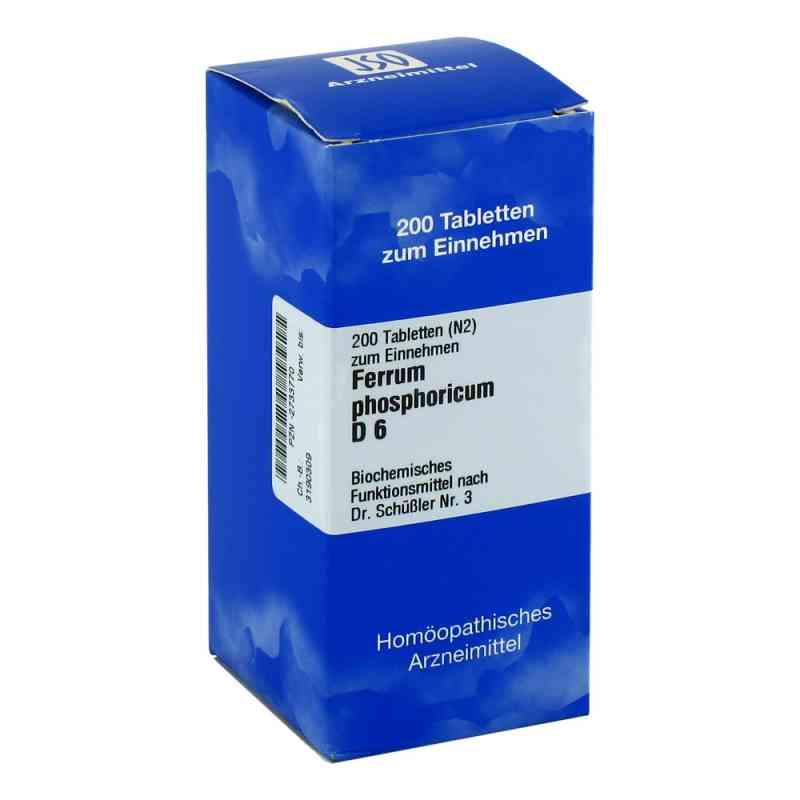 Biochemie 3 Ferrum phosphoricum D 6 Tabletten  bei versandapo.de bestellen