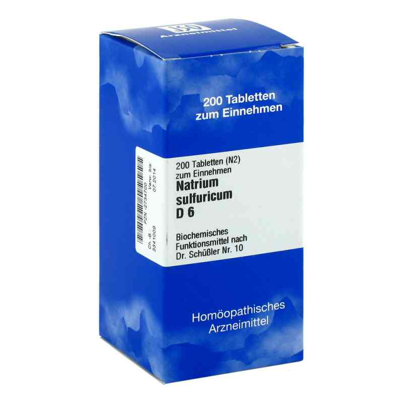 Biochemie 10 Natrium sulfuricum D 6 Tabletten  bei versandapo.de bestellen