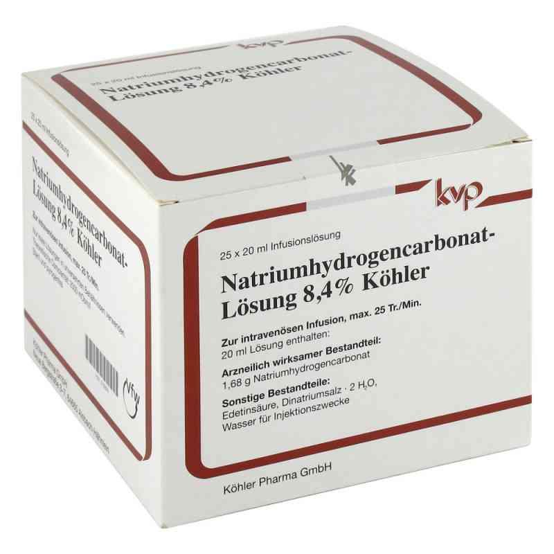 Natrium Hydrogencarbonat 8,4%  bei versandapo.de bestellen
