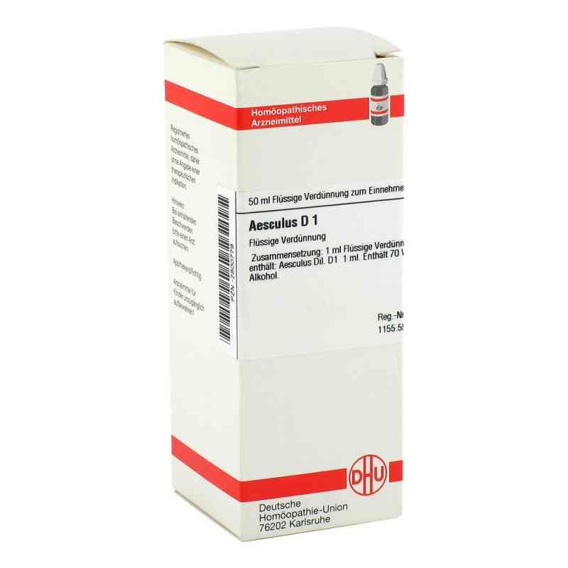 Aesculus D 1 Dilution  bei versandapo.de bestellen