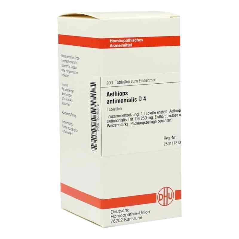 Aethiops Antimonialis D 4 Tabletten  bei versandapo.de bestellen