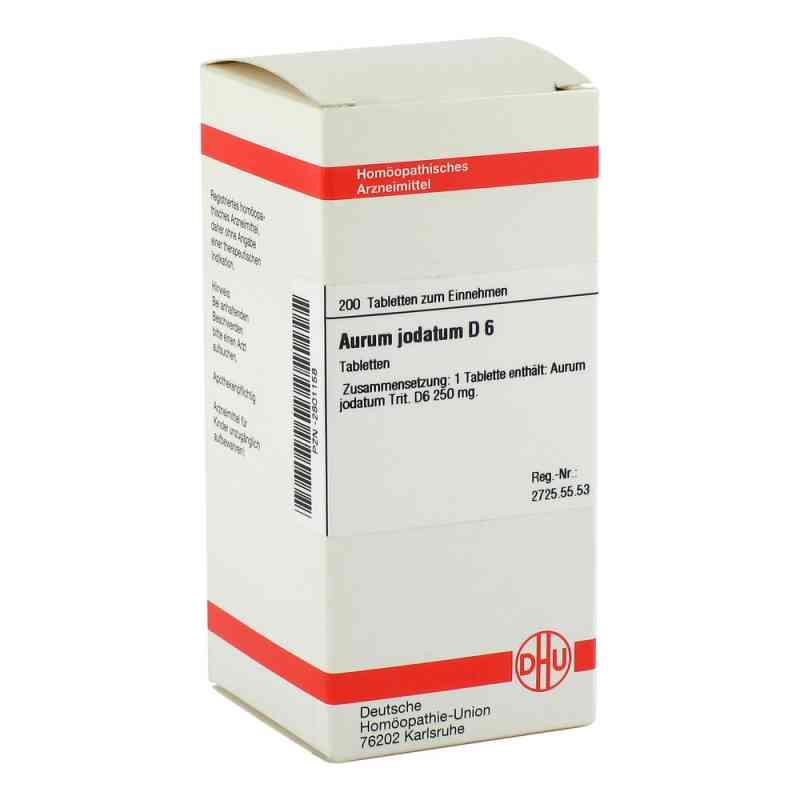 Aurum Jodatum D 6 Tabletten  bei versandapo.de bestellen