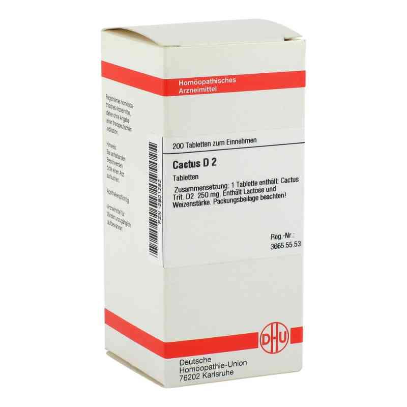 Cactus D 2 Tabletten  bei versandapo.de bestellen