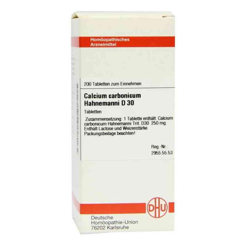 Calcium Carbonicum D 30 Tabletten Hahnemanni  bei versandapo.de bestellen