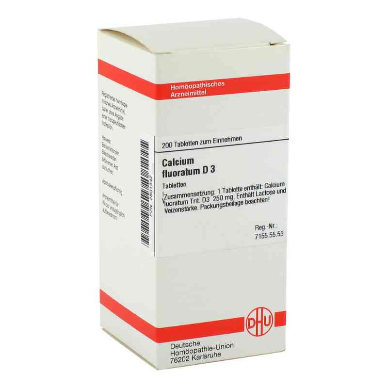 Calcium Fluoratum D 3 Tabletten  bei versandapo.de bestellen
