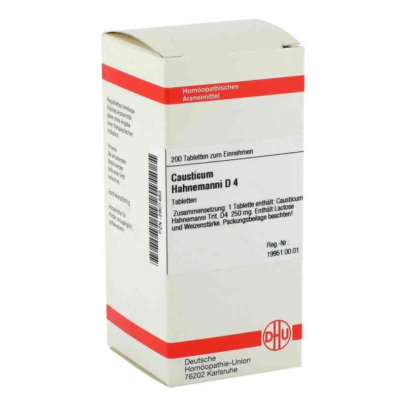 Causticum Hahnemanni D 4 Tabletten  bei versandapo.de bestellen