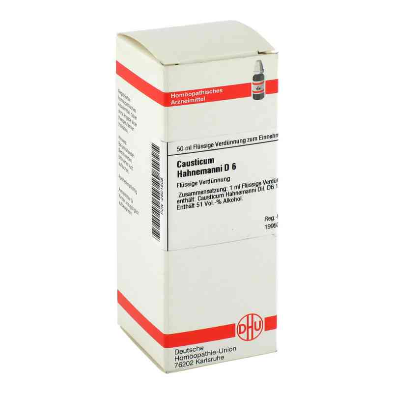 Causticum Hahnemanni D 6 Dilution  bei versandapo.de bestellen