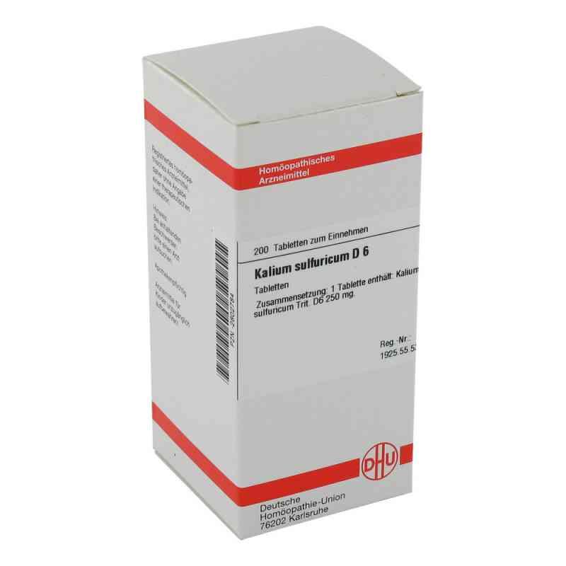 Kalium Sulfuricum D 6 Tabletten  bei versandapo.de bestellen