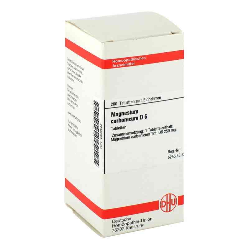 Magnesium Carbonicum D 6 Tabletten  bei versandapo.de bestellen
