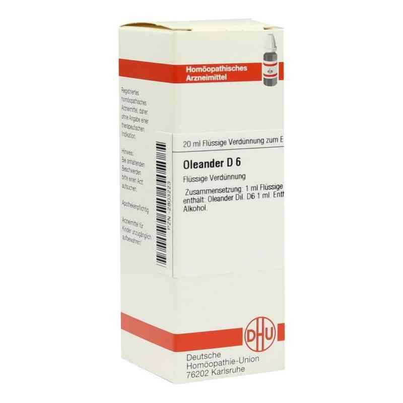 Oleander D 6 Dilution  bei versandapo.de bestellen
