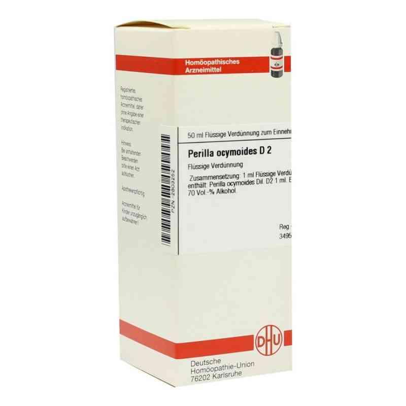 Perilla Ocymoides D 2 Dilution  bei versandapo.de bestellen