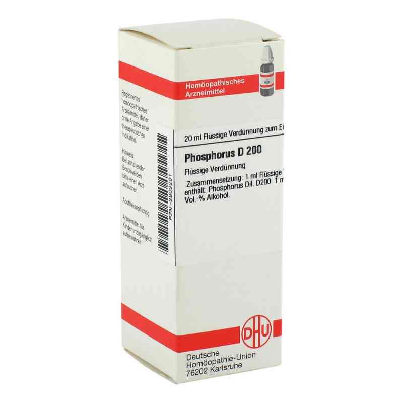 Phosphorus D 200 Dilution  bei versandapo.de bestellen