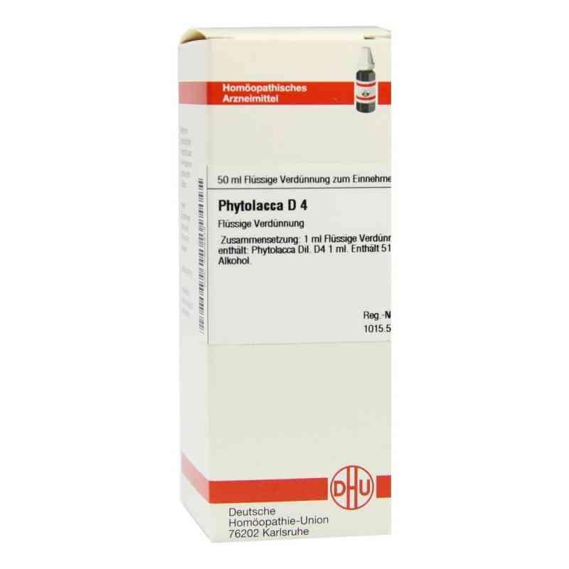 Phytolacca D 4 Dilution  bei versandapo.de bestellen