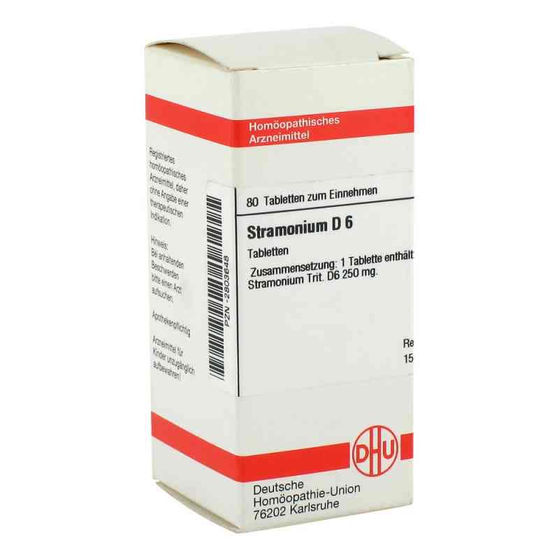 Stramonium D 6 Tabletten  bei versandapo.de bestellen