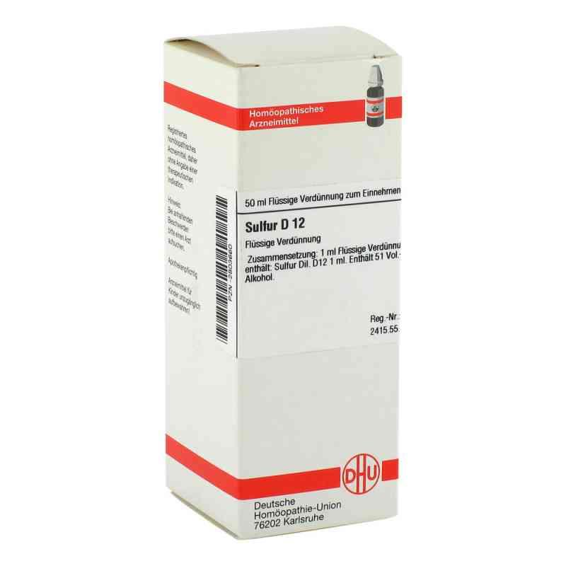 Sulfur D 12 Dilution  bei versandapo.de bestellen