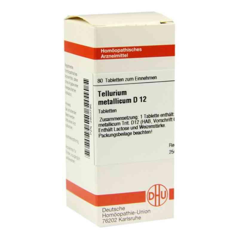 Tellurium Metallicum D 12 Tabletten  bei versandapo.de bestellen