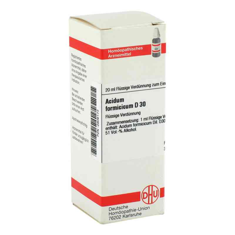 Acidum Formicicum D 30 Dilution  bei versandapo.de bestellen
