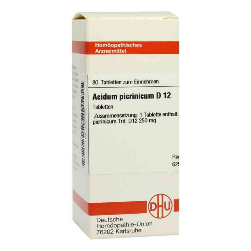 Acidum Picrinicum D 12 Tabletten  bei versandapo.de bestellen