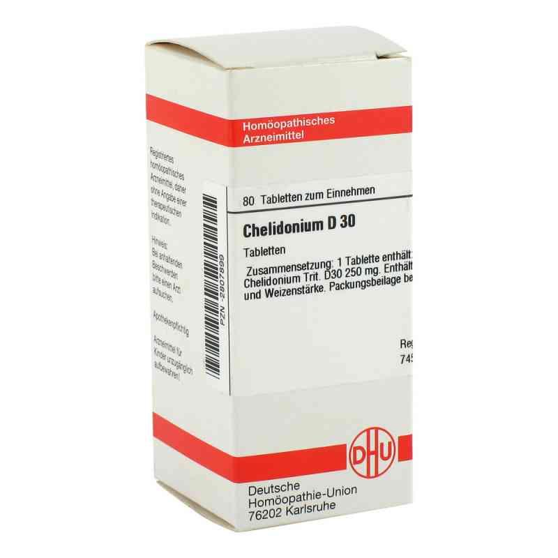 Chelidonium D 30 Tabletten  bei versandapo.de bestellen