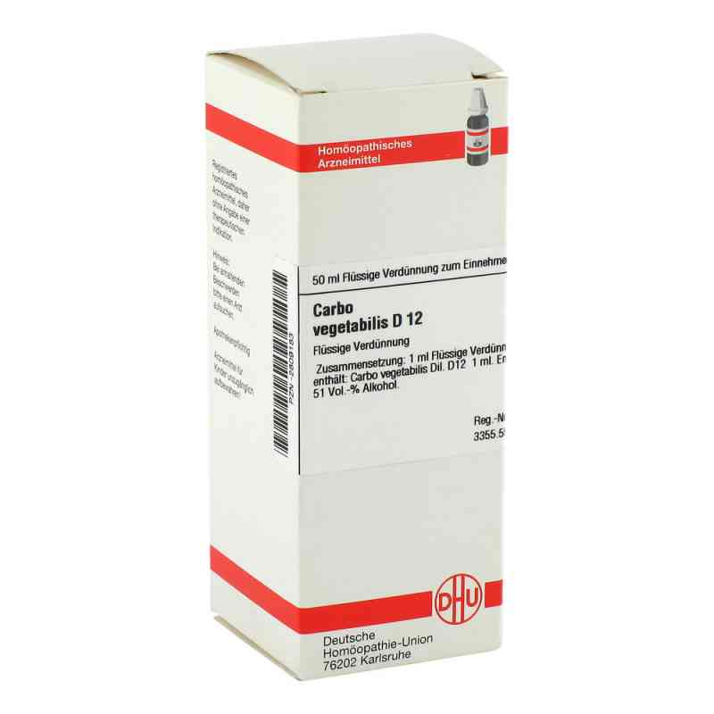 Carbo Vegetabilis D 12 Dilution  bei versandapo.de bestellen