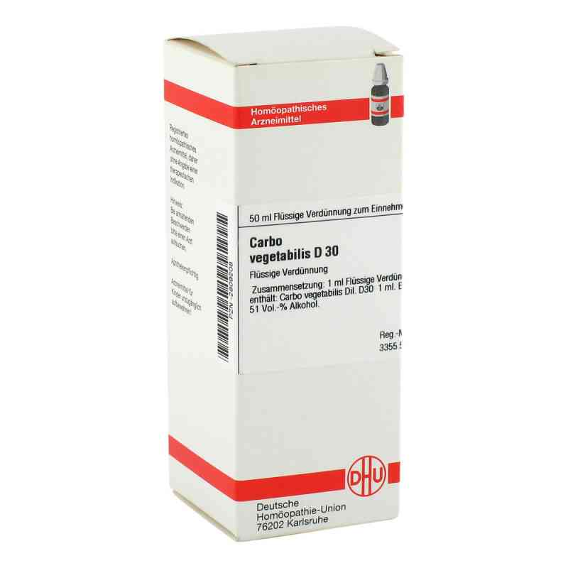 Carbo Vegetabilis D 30 Dilution  bei versandapo.de bestellen