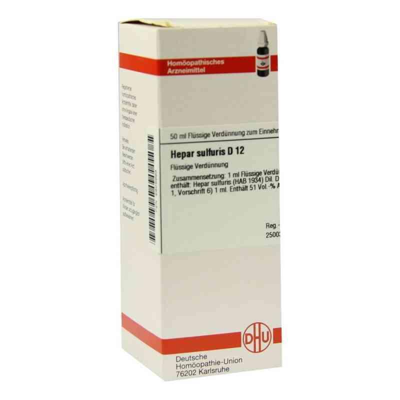 Hepar Sulfuris D 12 Dilution  bei versandapo.de bestellen