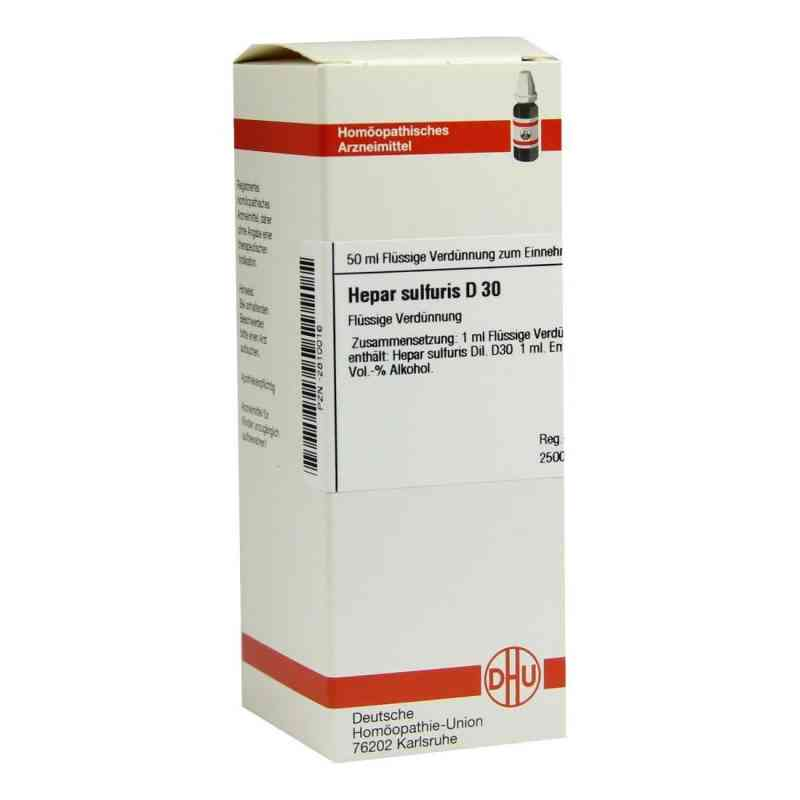 Hepar Sulfuris D 30 Dilution  bei versandapo.de bestellen