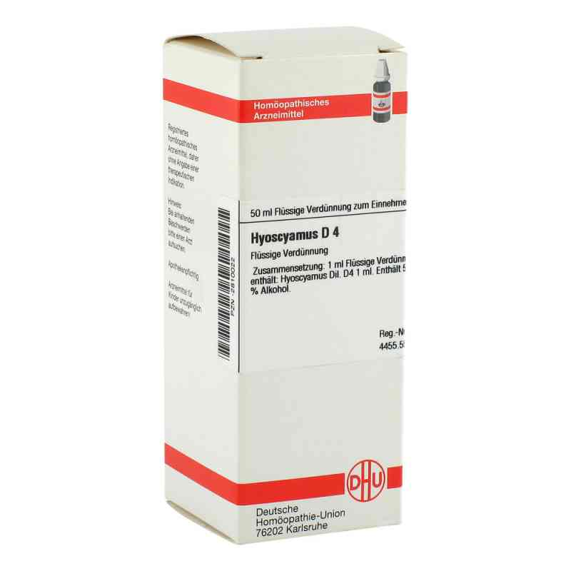 Hyoscyamus D 4 Dilution  bei versandapo.de bestellen