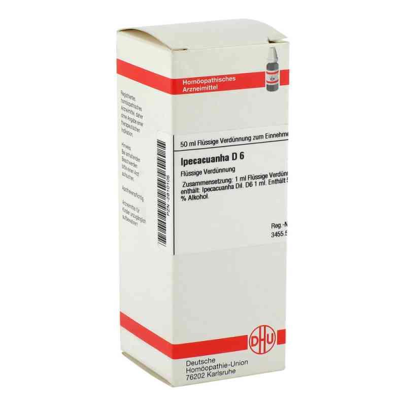 Ipecacuanha D 6 Dilution  bei versandapo.de bestellen