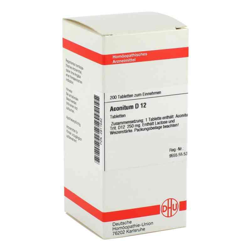 Aconitum D 12 Tabletten  bei versandapo.de bestellen