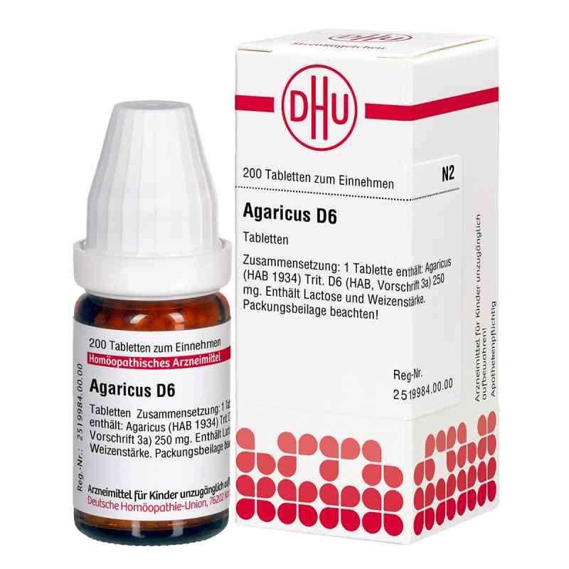 Agaricus D 6 Tabletten  bei versandapo.de bestellen