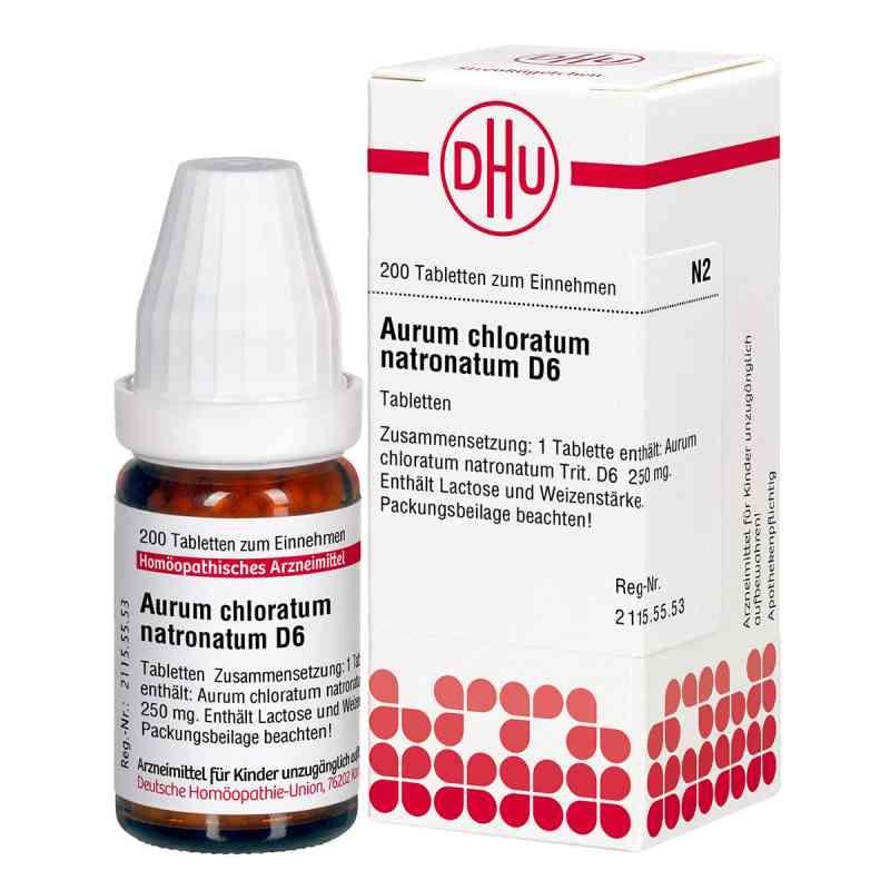 Aurum Chloratum Natronatum D 6 Tabletten  bei versandapo.de bestellen