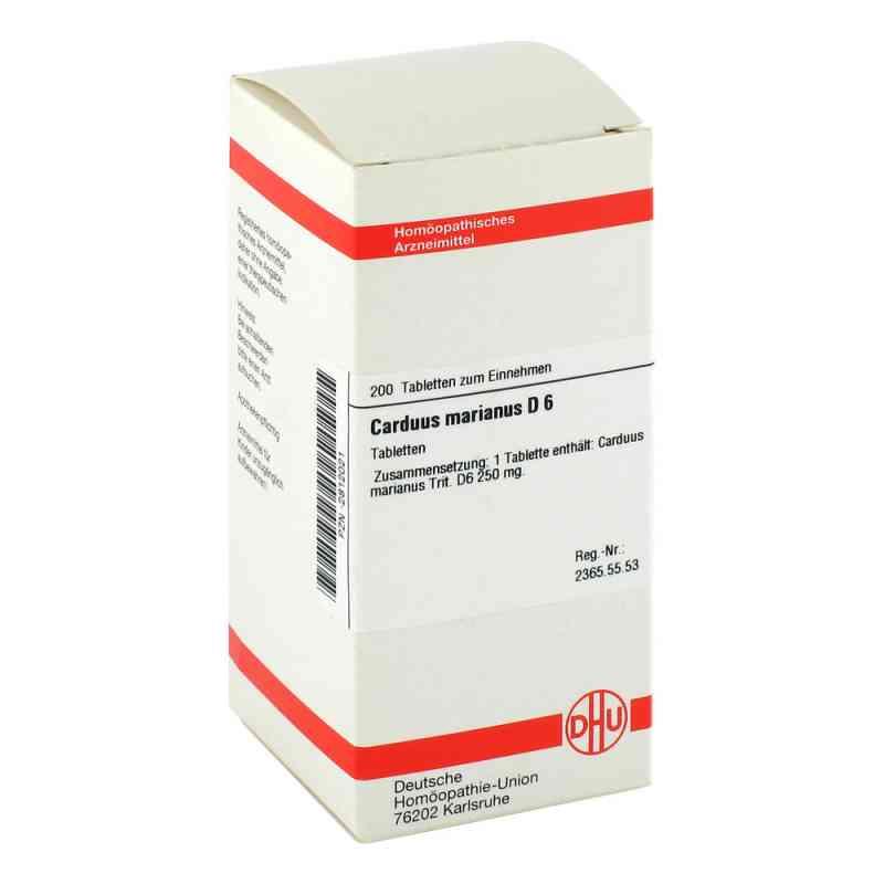 Carduus Marianus D 6 Tabletten  bei versandapo.de bestellen