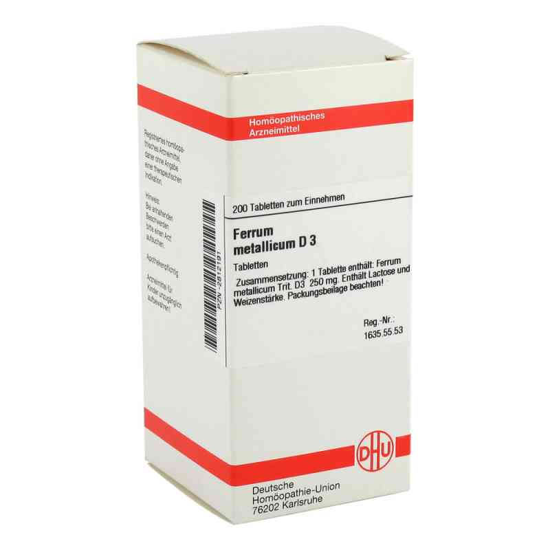 Ferrum Metallicum D 3 Tabletten  bei versandapo.de bestellen
