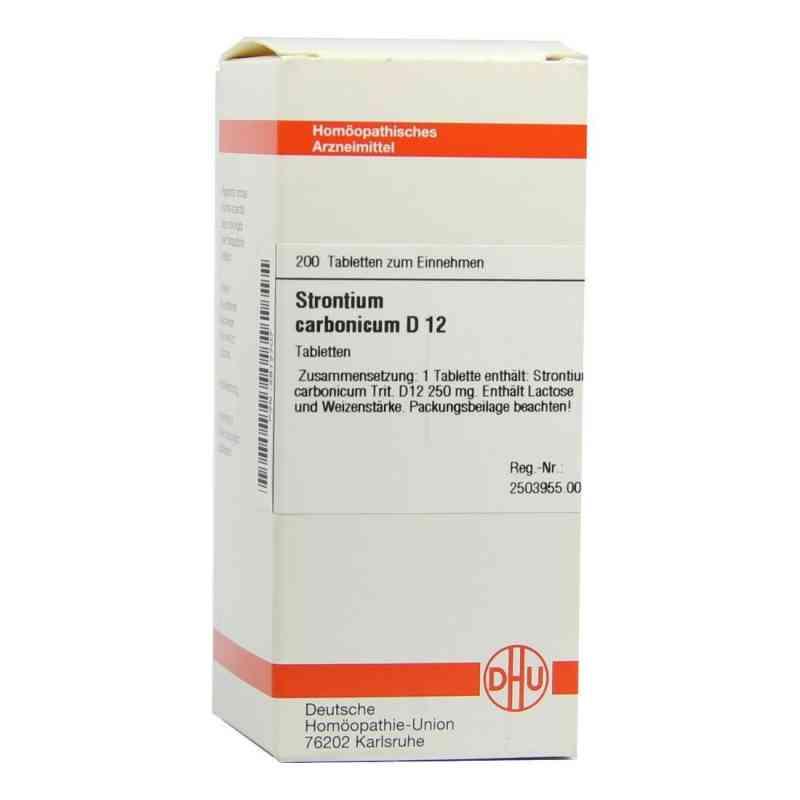 Strontium Carbonicum D 12 Tabletten  bei versandapo.de bestellen