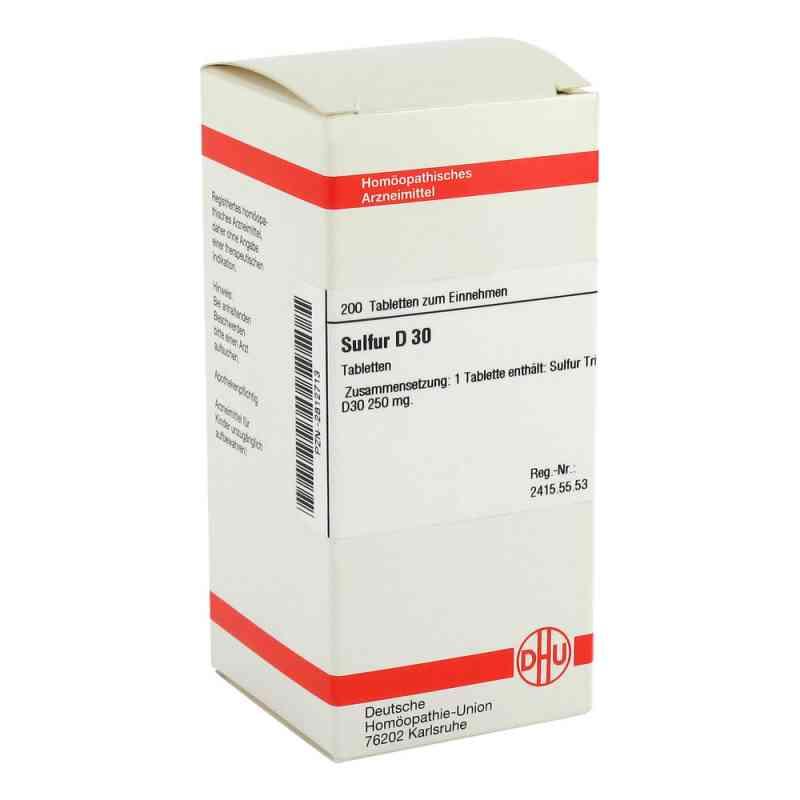 Sulfur D 30 Tabletten  bei versandapo.de bestellen