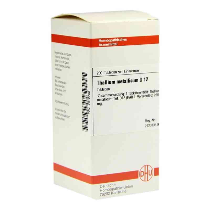 Thallium Met. D 12 Tabletten  bei versandapo.de bestellen
