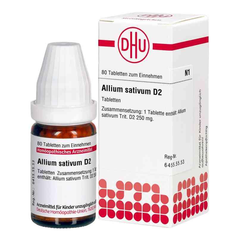 Allium Sativum D2 Tabletten  bei versandapo.de bestellen