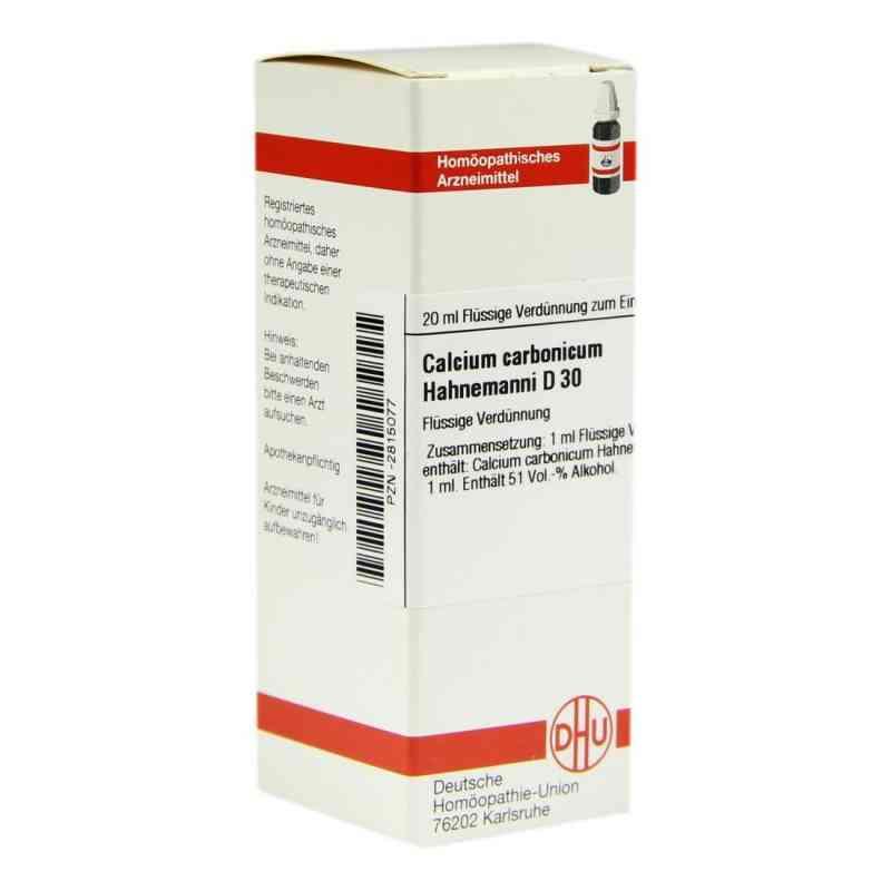 Calcium Carbonicum D 30 Dilution Hahnemanni  bei versandapo.de bestellen