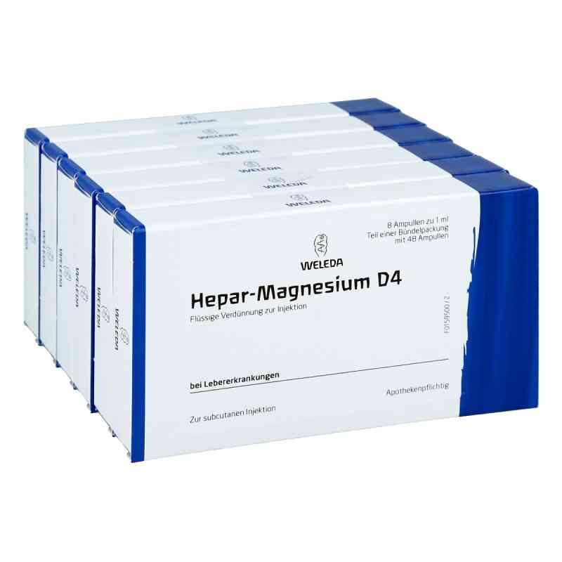Hepar-magnesium D 4 Ampullen  bei versandapo.de bestellen