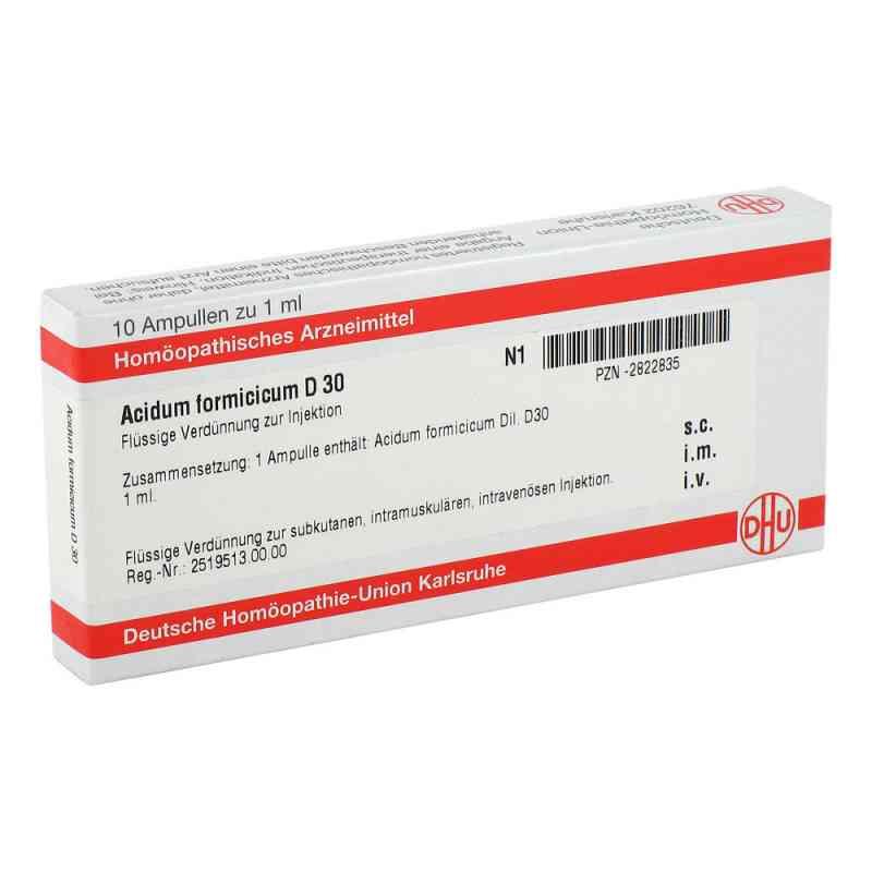 Acidum Formicicum D 30 Ampullen  bei versandapo.de bestellen