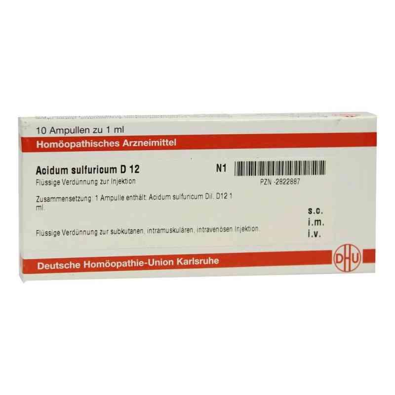 Acidum Sulfuricum D 12 Ampullen  bei versandapo.de bestellen