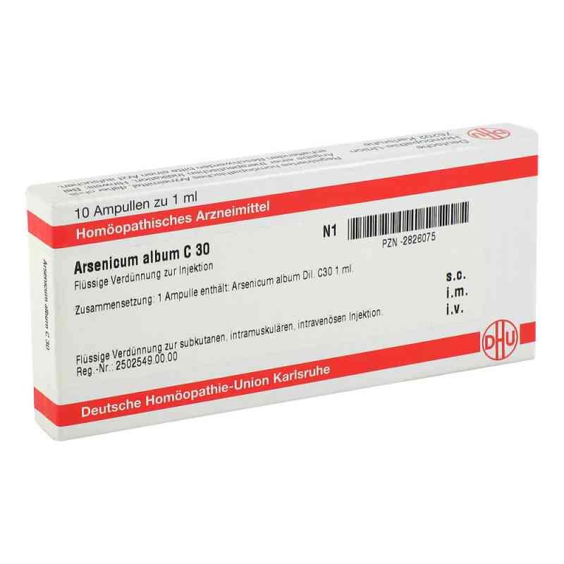 Arsenicum Album C 30 Ampullen  bei versandapo.de bestellen